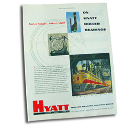 Hyatt Railway Bearing Catalogue