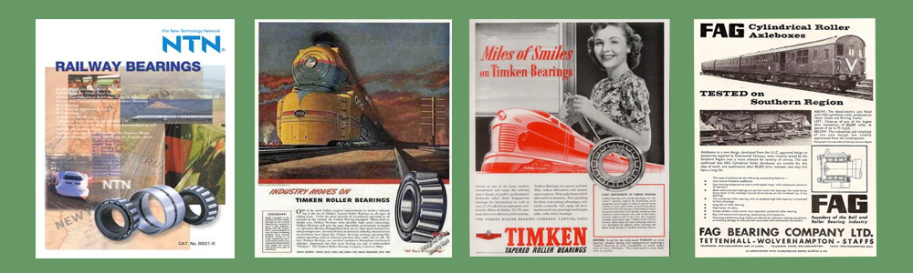 Vintage Railway Bearings Brochures
