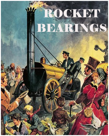 Ball Bearings In Classic Train Poster