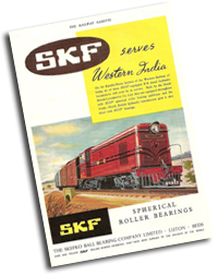 SKF Vintage Railway Bearings Catalogue